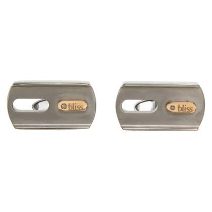 Bliss Titanium cuff links