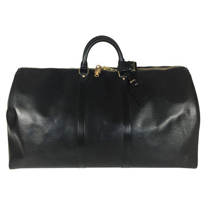 "Louis Vuitton ""Keepall 55 Epi Leder Schwarz"""