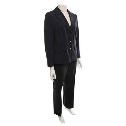 Rena Lange Tailleur pantalone in blu