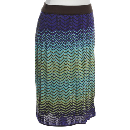 Missoni Rock mit Strickmuster