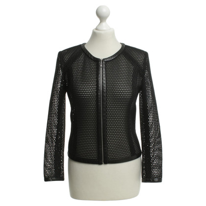 Barbara Bui Jacket with hole pattern