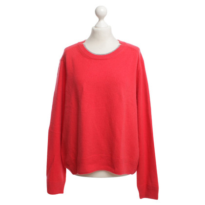 Jil Sander Pullover in red