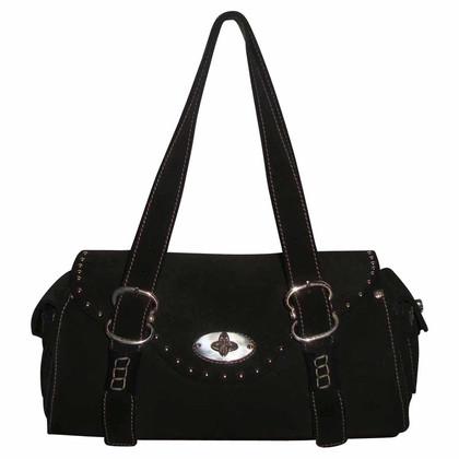 Hugo Boss Suede studded bag