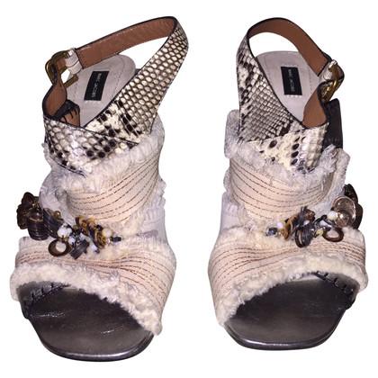 Marc Jacobs Sandalen gemaakt van gemengde materialen