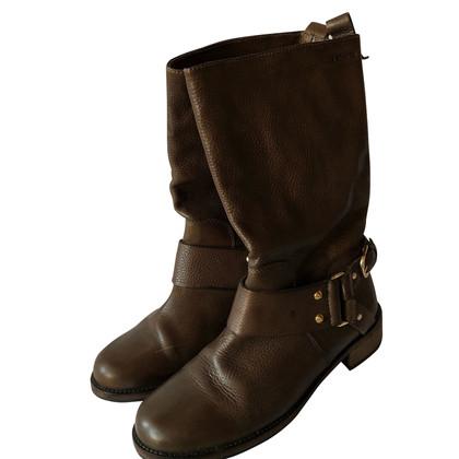 Hugo Boss Stivali in marrone