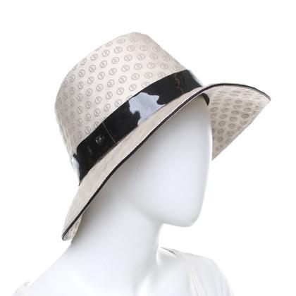 Giorgio Armani Hut mit Logo-Muster