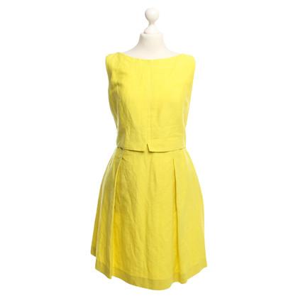 Max Mara gele jurk