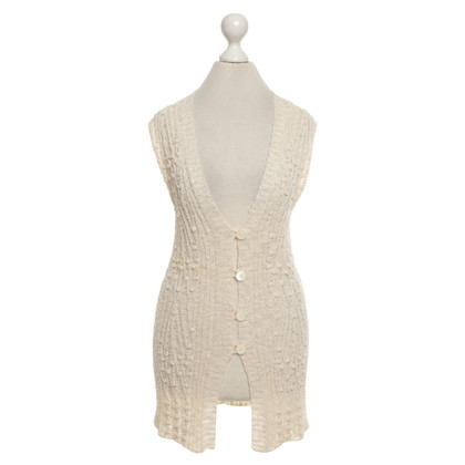 Marc Cain Knitted vest in beige