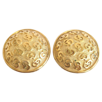 Christian Dior Gold clip earrings