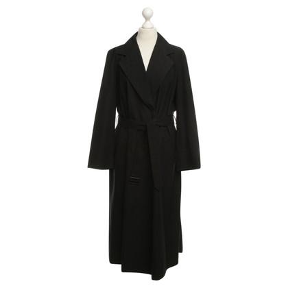 Max Mara Long coat in black