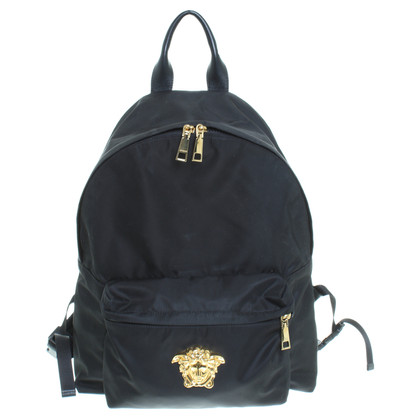 Versace Backpack in black