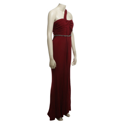 Badgley Mischka Avondjurk in Maroon