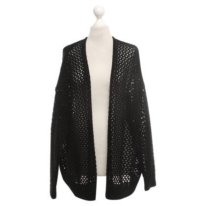 360 Sweater Cardigan en noir