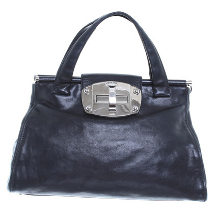 Miu Miu Black leather handbag