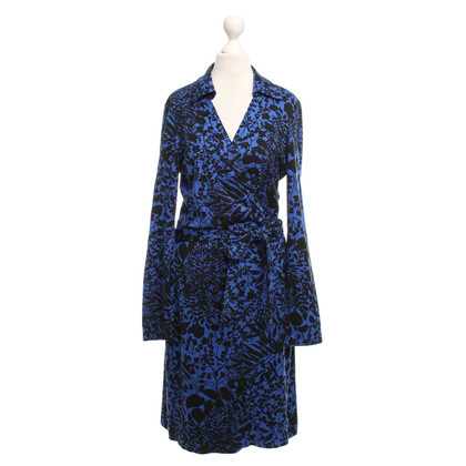 Diane von Furstenberg Wrap dress in blue