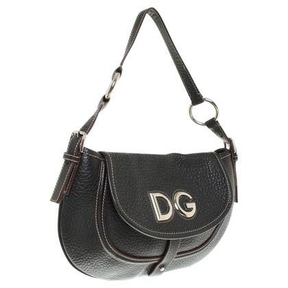 D&G Umhängetasche in Schwarz