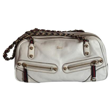 Gucci Weiße Handtasche
