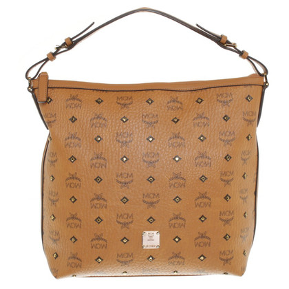 "MCM ""Gold Visetos Hobo Small"""