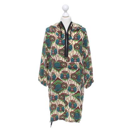 Marni for H&M abito in seta con cappuccio