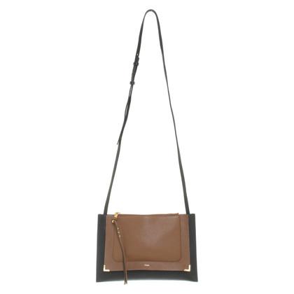 Chloé Borsa a tracolla in nero / marrone