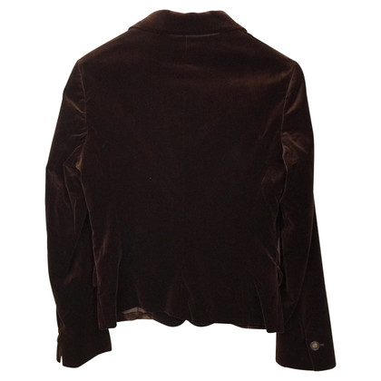 Loro Piana Brown velvet Blazer