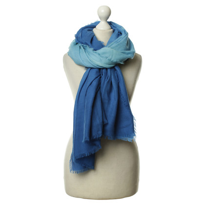 Louis Vuitton Scarf in shades of blue