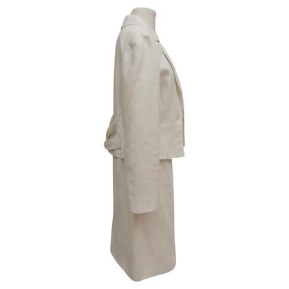 Valentino Costume en blanc crémeux