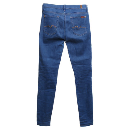 7 For All Mankind Jeans in Mittelblau