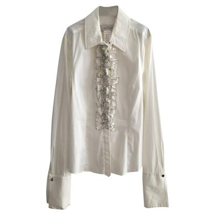 By Malene Birger Ruffled Silk Shirt