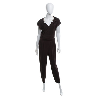 Escada Jumpsuit in Dunkelbraun