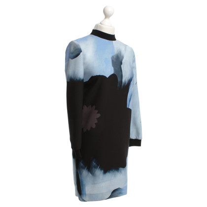 Victoria by Victoria Beckham Oversize dress in blue / black