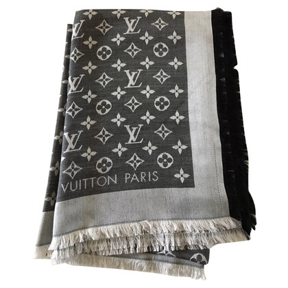 Louis Vuitton Stola nera denim vuitton