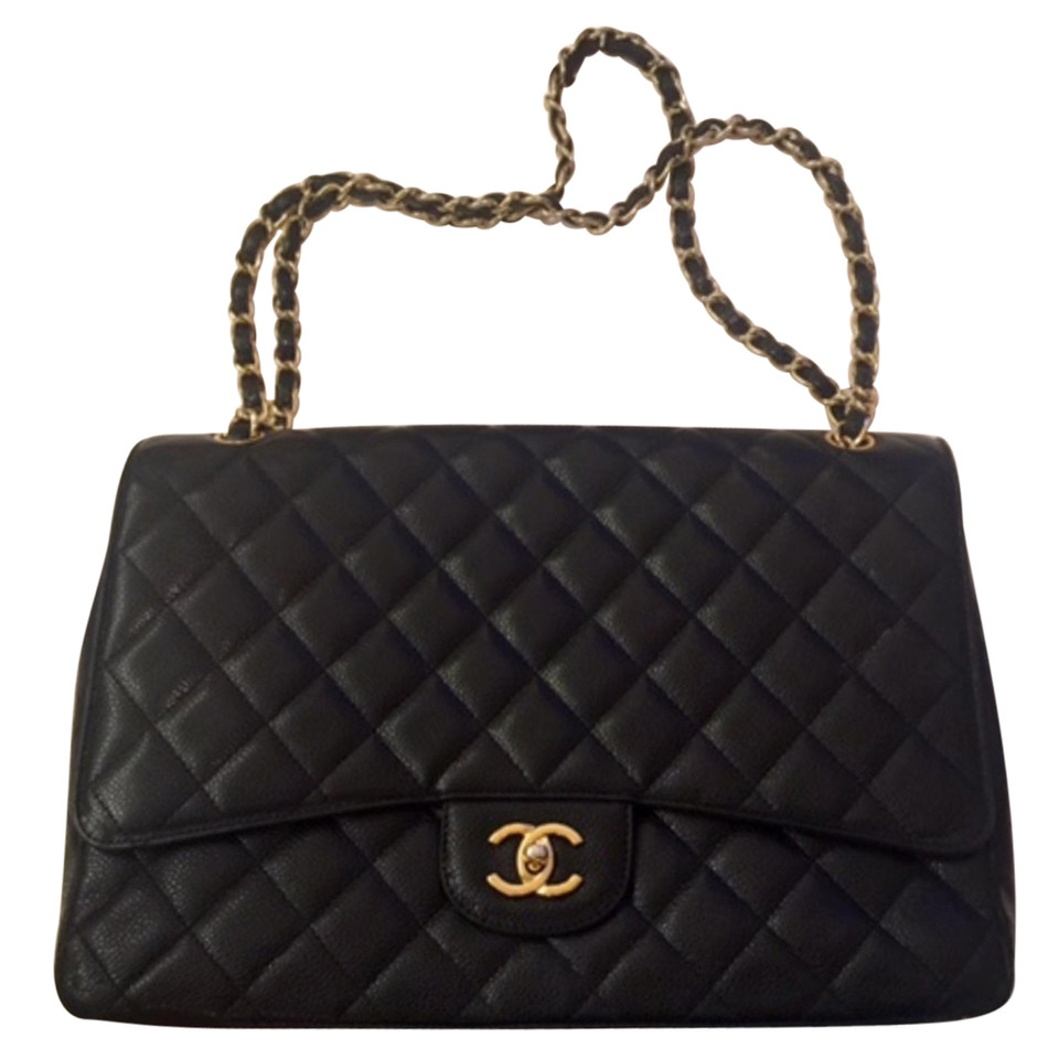 chanel classic jumbo flap bag buy second hand chanel classic jumbo flap bag for 3. Black Bedroom Furniture Sets. Home Design Ideas