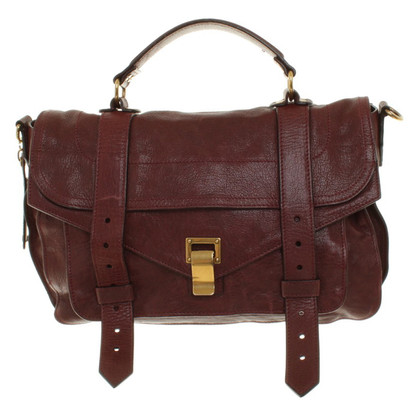 Proenza Schouler Shoulder bag in Bordeaux