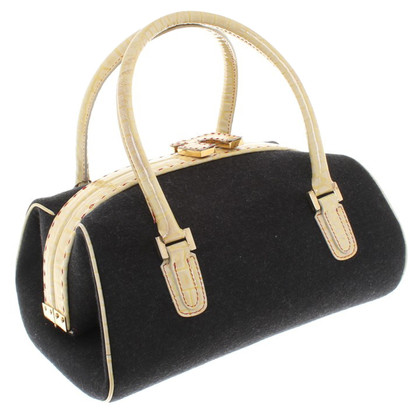 Emanuel Ungaro Handbag with twist closure