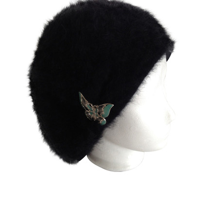 John Galliano Wool Angora fur