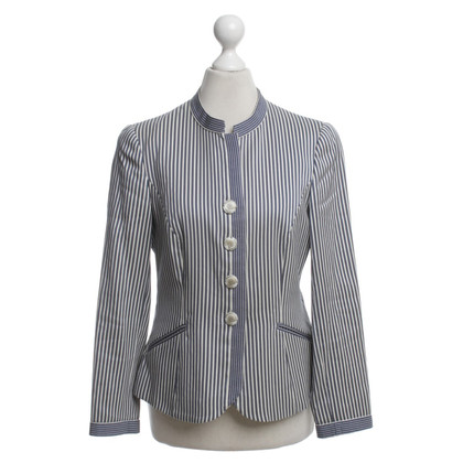 Armani Short jacket with striped pattern