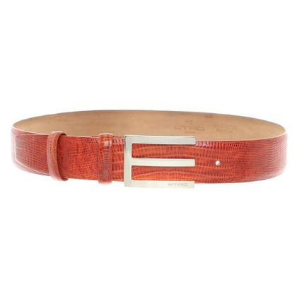 Etro Belt in Orange