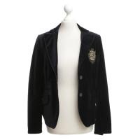 Bogner Velvet giacca in blu scuro