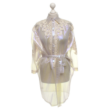 La Perla top in holographic look