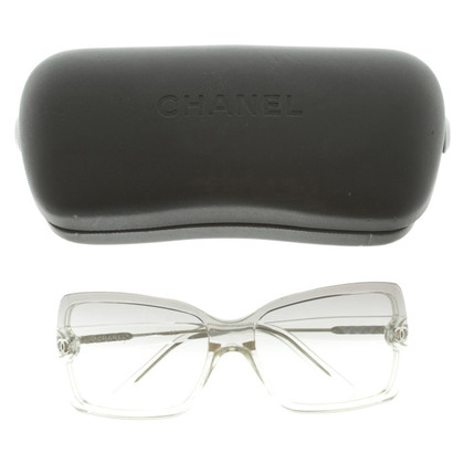 Chanel Sunglasses with transparent frame