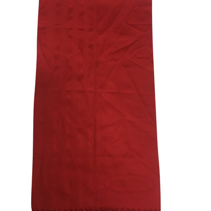 Missoni Red wool scarf