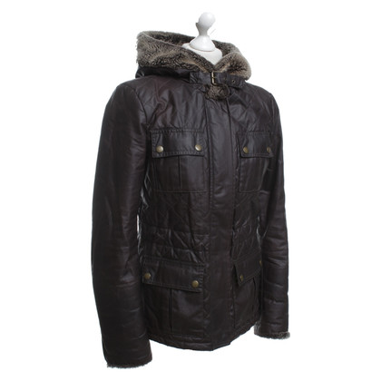 Belstaff Jacket with faux fur hood