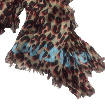Louis Vuitton Schal mit Leopardenmuster