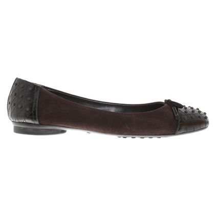 Tod's Ballerine a Brown