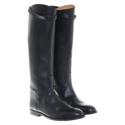 Hermès Boots in black