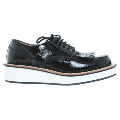 Givenchy Black patent leather shoes