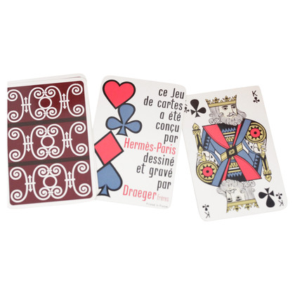 Hermès Gioco di carte con la scatola