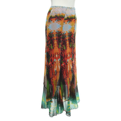 Jean Paul Gaultier skirt in multicolor