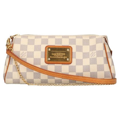"Louis Vuitton ""Pochette Eva Damier Azur Canvas"""